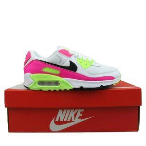 Nike Air Max 90 Womens Shoes Size 7 White Pink
